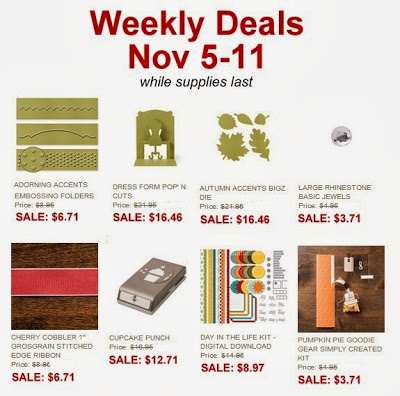 Weekly Deals Nov5