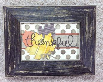 Thankful Frame