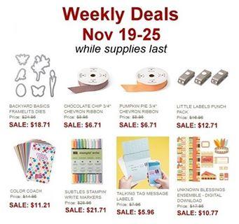 Nov. 19-25 Deals