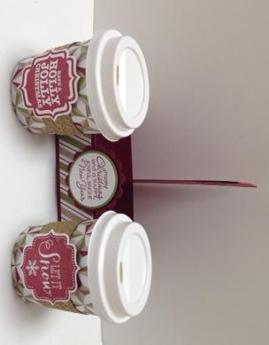 Mini Coffee Cups & Carrier