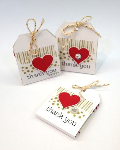 Heart Tag Candy Holders
