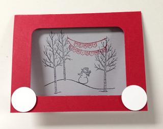 White Christmas Etch-a-Sketch