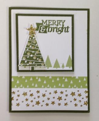 Merry & Bright Green & Gold