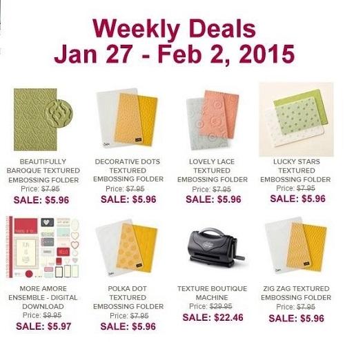 Weekly Deals Jan 27 - Feb 2