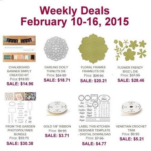 Weekly Deals Feb 10-16