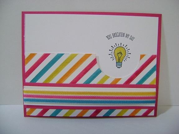 Stripes & Light Bulb