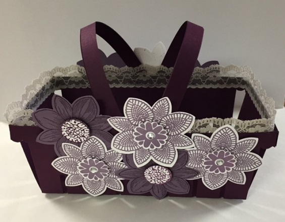 Double Flower Basket