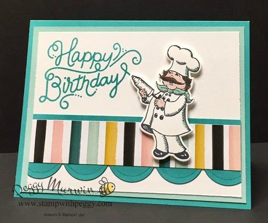 Birthday Delivery stamp set, Birthday Friends Framelits, Birthday Memories designer paper