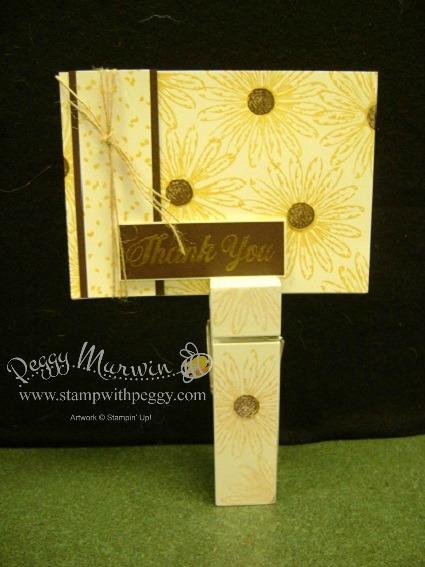 Daisy Delight Stamp set, Recipe Card Holder