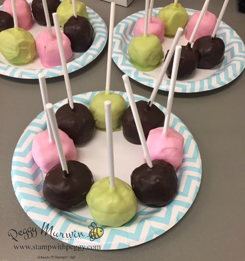 Relay for Life, American Cancer Society, Chocolate Covered Rice Krispie Balls