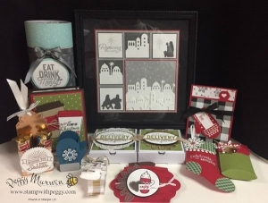 Santa's Workshop, Christmas Gifts, Paper Crafting