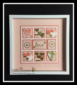 Sure Do Love You Bundle, Heart Happiness, Sweet & Sassy Framelits, Painted Love Vinyl Stickers, Framed Art, Collage, Valentine's Day, Love
