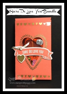 Lots of Love Framelits, Treat Box, Sure Do Love You Stamp Set, Valentine's Day
