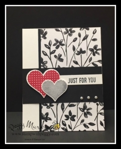Heart Happiness, Petal Passion Designer Paper, Valentine's Day, Anniversary, Just For You
