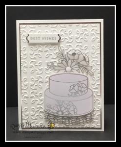 Sweet Soiree Embellishment kit, Garden Trellis Embossing Folder, Cake Soiree Stamp Set, Bunches of Banner Framelits