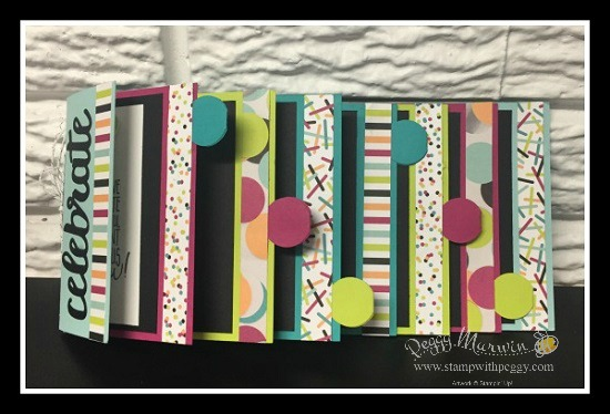 Stampin' Sisters Retreat, Picture Perfect Birthday stamp set, Picture Perfect Party Designer Paper, Circle Tab Punch