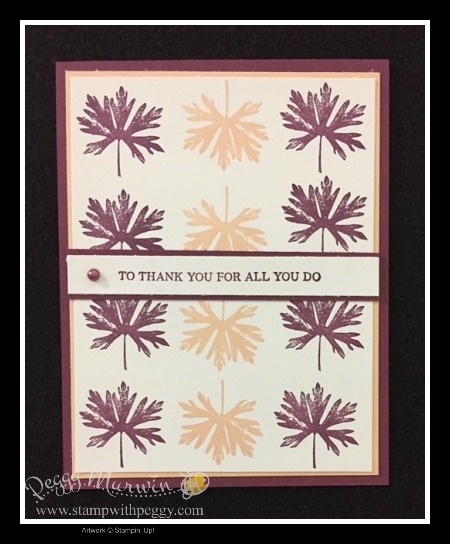 Rooted in Nature stamp set, Blackberry Bliss, Petal Pink, On Stage, Thank You