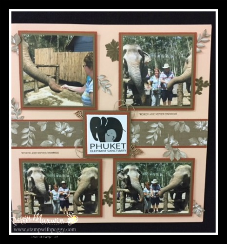 Rooted in Nature Stamp Set, Nature's Poem Designer Paper, Phuket Elephant Sanctuary