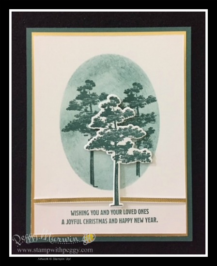 Rooted in Nature Stamp Set, Layering Ovals Framelits, Christmas