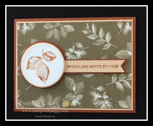 Nature's Poem Suite, Rooted in Nature Stamp Set, Nature's Poem Designer Paper, Sympathy, Suite Surprise