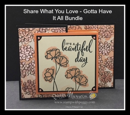 Share What You Love, Gotta Have It All Bundle, Love What You Do Stamp Set