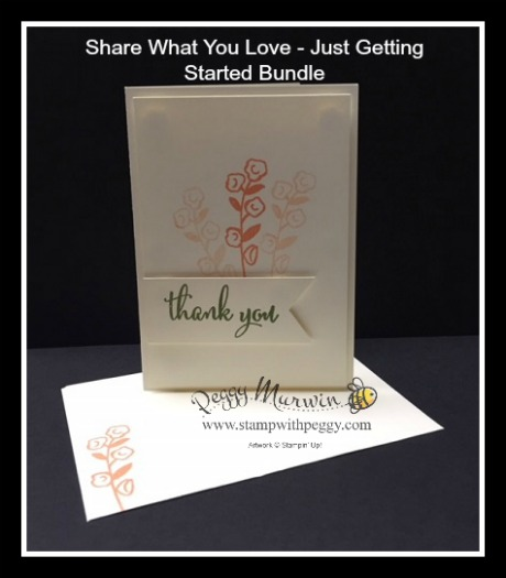 Share What You Love, Just Getting Started Bundle, Gigi's Playhouse, Make a Difference Day