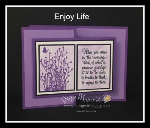 Enjoy Life stamp set