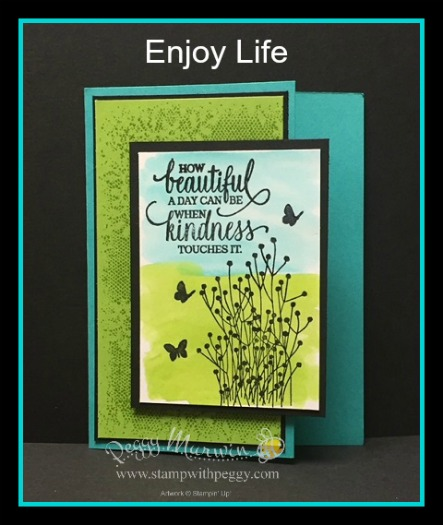 Enjoy Life Stamp Set, Touches of Texture Stamp Set