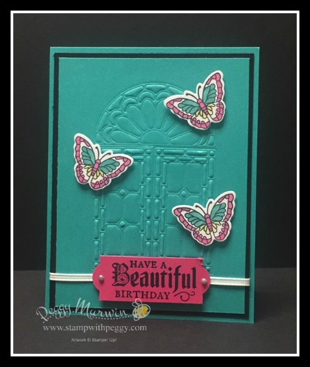 Painted Glass Stamp Set, Stained Glass Thinlits, Embossing Pads