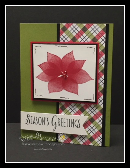 Stylish Christmas stamp set, Under the Mistletoe Designer Paper