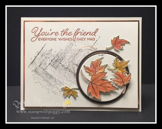 Blended Seasons Stamp Set, Gallery Grunge Stamp Set, Fall