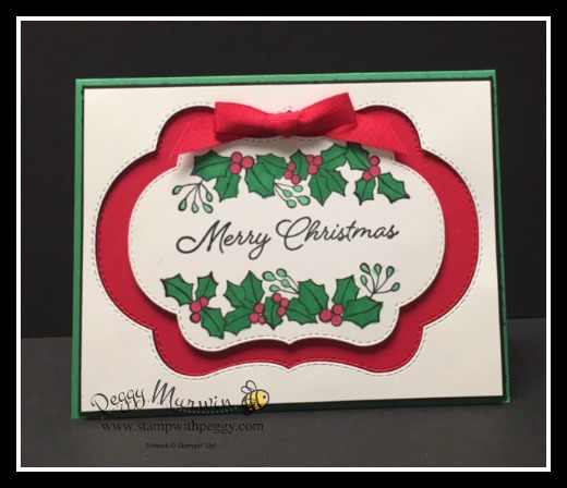 Blended Seasons Stamp Set, Stitched Seasons Framelits, Christmas