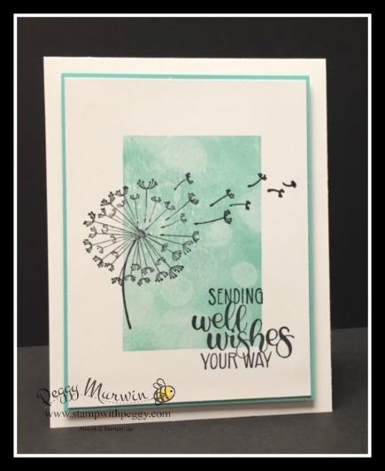 Dandelion Wishes Stamp Set, Bokeh Dots Stamp Set