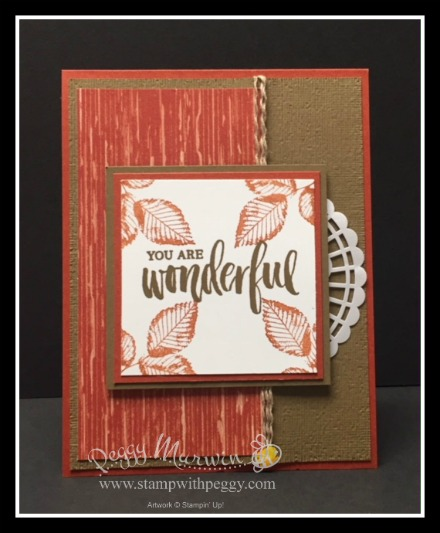 Rooted in Nature Stamp Set, Nature's Poem Designer Paper, Subtles Embossing Folder