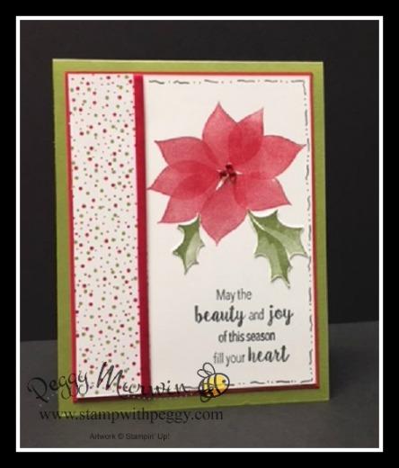 Stylish Christmas Stamp Set, Under the Mistletoe Designer Paper, Christmas