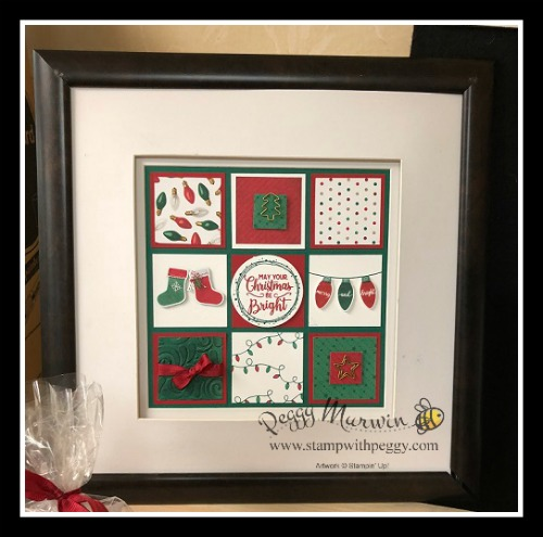 Stampin' Sisters Holiday Hoopla, All is Bright Suite, Making Christmas Bright Stamp Set, All is Bright designer paper