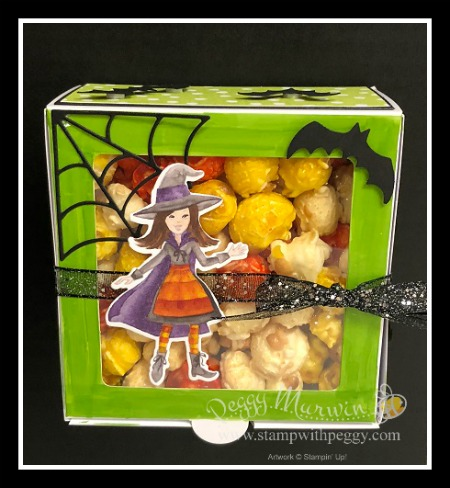 Stampin' Sisters Holiday Hoopla, Toil & Trouble Suite, Halloween, Baker's Box
