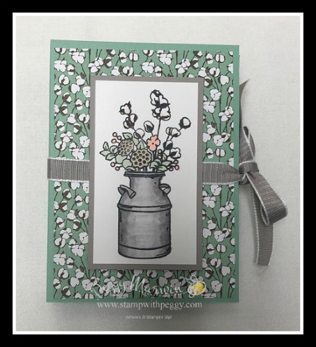 Stampin' Sisters Holiday Hoopla, Country Home Stamp Set, Country Lane Designer Paper