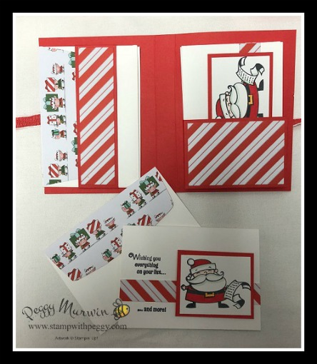 Stampin' Sisters Holiday Hoopla, Signs of Santa stamp set, Santa's Workshop Designer Paper