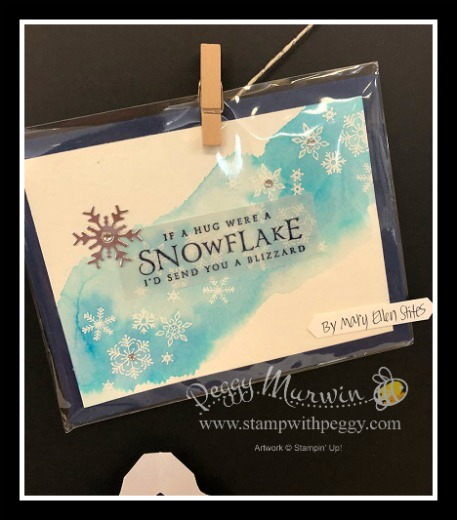 Stampin' Sisters Holiday Hoopla, Beautiful Blizzard Bundle