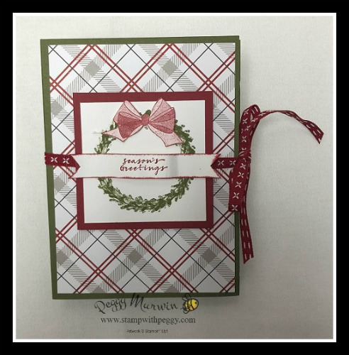 Stampin' Sisters Holiday Hoopla, Wishing Well Stamp Set, Festive Farmhouse Designer Paper