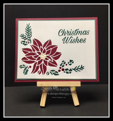 Peaceful Poinsettia, Detailed Poinsettia, Christmas