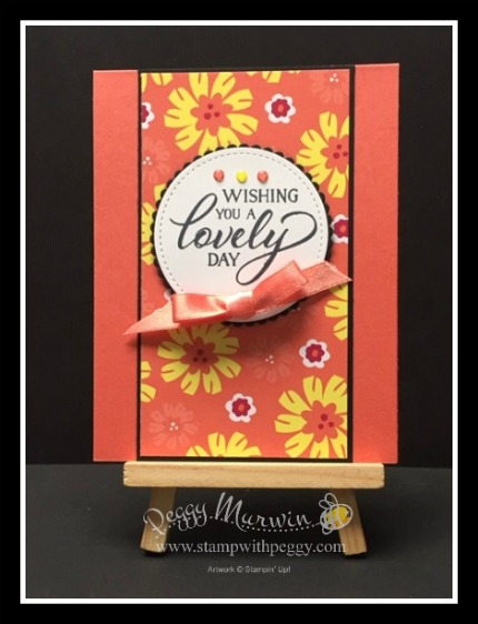 Forever Lovely Stamp Set, Happiness Blooms Designer Paper