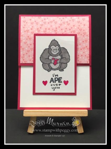 Hey Love Stamp Set, All My Love Designer paper
