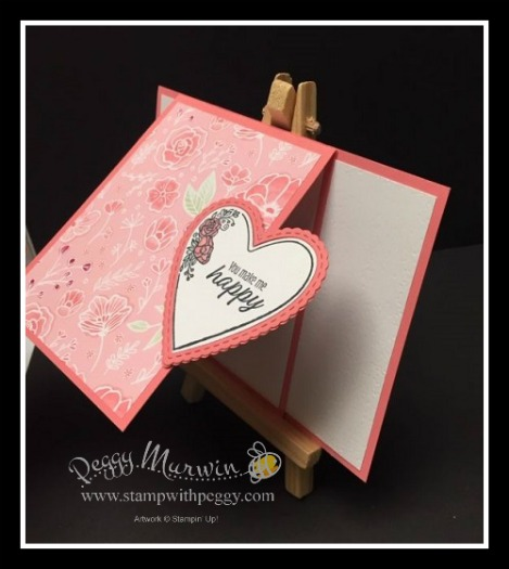 Meant to Be Stamp Set, Be Mine Stitched Framelits, All My Love designer paper, Valentine