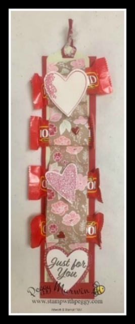 Meant to Be Stamp Set, Be Mine Stitched Framelits, Valentine's Day, Treat Holder