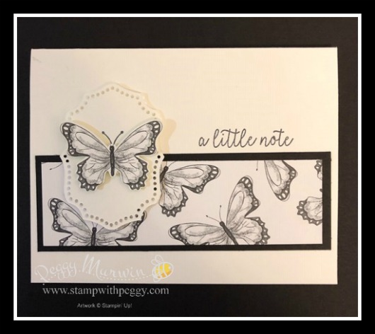 Stampin' Sisters Retreat, Butterfly Gala Stamp Set, Butterfly Duet Punch, Botanical Butterfly Designer Paper, Stamp with Peggy