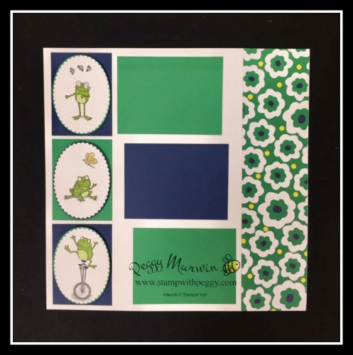 So Hoppy Together Stamp Set, Happiness Blooms Designer Paper, March, Scrapbook, St. Patrick's Day, Stamp with Peggy