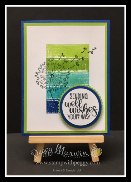 Dandelion Wishes Stamp Set, Spectrum Ink Pad, Stamp with Peggy