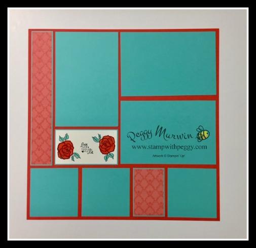 Tea Together Stamp Set, Tea Time Framelits, Tea Room Designer Paper, Scrapbook, Mother's Day, Stamp with Peggy